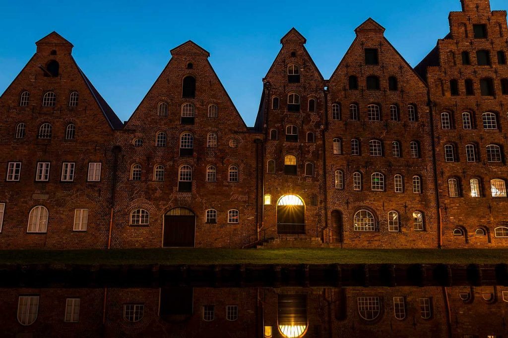 Salt storage in Lübeck photographed with the Canon Eos 70D.
